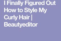Steps for my curly hair