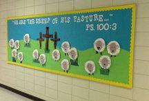 Sunday School Door Art