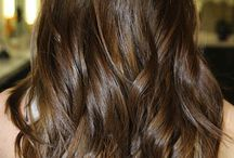 Hairstyle / Brunette hairstyle collection