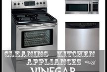 How to Clean Appliances / Tips and tricks about cleaning appliances such as ovens, refrigerators, washers, and dryers.