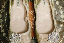 natural wedding shoes / simple, natural wedding shoes