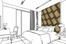 Wall Tiles - Residential Inspiration / Wall Tile pattern inspiration drawings for your Residential Project.