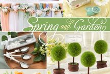 Spring Weddings / Ideas and inspiration for planning your spring wedding. From decorating, color palettes, themes, and style!