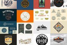 Vintage park logos