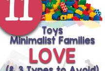 minimising toys