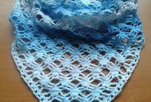 Šátky - shawls / Háčkování - crochet