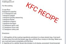 Recipes / by Nikol Hull-Purvis
