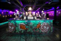 Restaurant & Bar Design / Take a look at these bar and restaurant designs from around the world.