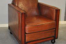Schapenleren meubels / Verkoop van gerenoveerde schapenleren meubels