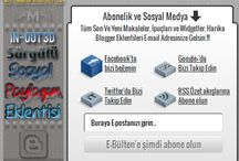 Sürgülü In-Out 3D Sosyal Paylaşım Eklentisi