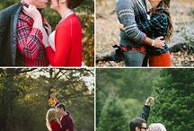 Engagement photo ideas / Christina & Brad