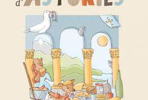 Versos d'Asturies / Versos de Asturias / Versos d'Asturies / Versos de Asturias Textos: Daniel García Granda Ilustraciones: Ilemi Cuesta Mier