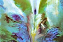 Renee Richards Energy paintings / tools to grow, your own energy