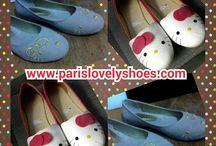 Model sepatu lucu dan trendi dari Paris Lovely Shoes