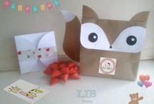 ¡Tarjetas Invitaciones Recordatorios! ~ Packaging / ¡Pequeños Detalles hechos por Gente Grande y Divertida! Todo exclusivamente en Papel & Cartón. Desde los moldes hasta el más pequeño detalle decorativo que hagamos, con mucho, mucho, mucho amor & 100% Reciclables!