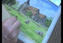 ART: Colin Bradley lessons in watercolor