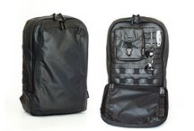 Special Ops. / Taking the benefits of a military pack into the context and demands of our every day lives, the Special Ops pack utilizes a laminated, laser-cut, internal MOLLE grid to let you organize your carry the way that best suites your needs. Our toughest, most weather resistant pack yet, it will meet any task or mission you encounter in your work, travel, or play