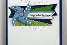 Cartes anniversaire