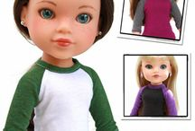 Les Cheries and Heart For Hearts Doll Clothes Patterns