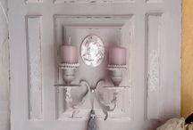 petite Porte avec chandelier