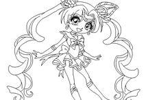 Sailor Moon lines