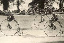 vintage bicycle race