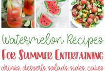 Summer party ideas & food