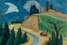 Gabriele Munter painter / German Expressionist painter 1877-1962