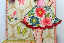 Prima Stamp Dolls ideas