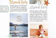 Ali Edwards - Story Stamps & Kit