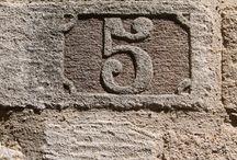 Number antique-art