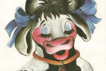 Vacas ( pintura en tela)