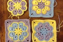 GRANNY SQUARE PATTERNS / AMAZING SQUARES TO USE FOR PROJECTS