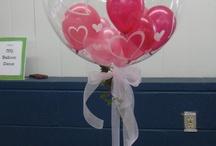 Valentine Centerpiece Balloons
