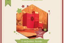 CALENDARIO DELL'AVVENTO / Aspettiamo il Natale insieme con il calendario dell'avvento dell' Erboristeria Gelsomina. Dal 1° al 25 Dicembre vi proponiamo ogni giorno un'idea regalo.  Naturalmente il miglior modo di augurare Buon Natale.