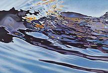 Watery paintings