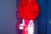La roulotte des fées / Lampe en papier