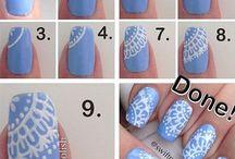 stwórz swoje pomalowane paznokcie
