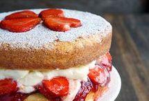 Бисквиты и торты