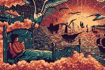 Yeni Nesil Van Gogh - James R. Eads / Bazılarına göre modern 'Van Gogh' olan ABD'li sanatçı James R. Eads, mistik çizimleriyle büyülüyor..  Kaynak / Source : jamesreads.com  (Deniz Humması - http://wp.me/p7eZYA-pi)