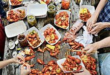 Craw to Action / Crawfish boil, Midwestern-style