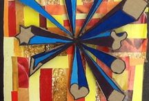 Klas 2: Perspectief, zwevende vormen