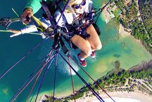 Free flying / Hand gliding paragliging and flying stuff