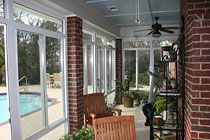 Sunrooms / Home Improvement Projects : New and Updated Sunrooms #HomeImprovement #Sunroom
