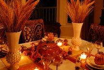 Table setting,decorations