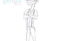 Cartoon Character's Sketches