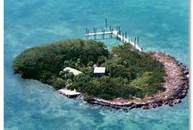 Charlie's Island - A Private Offshore Island in the Florida Keys / Buy or Rent this offshore island.  Get Bragging rights owning and/or even renaming your own island.  This unique little island rests on fossilized coral in a protected little enclave private and relaxing. You can rent it with a 38' houseboat and enjoy a week of total relaxation.  Buy it and rename it.  Transfers like a single family home.  Call now own your own private island today.  305-767-1297 Ask for Gidget.