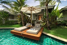 ✖ outdoor living + pools ✖ / by Christina G. Chen