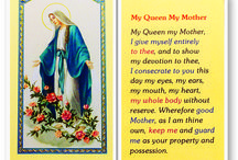 MARY PRAYER CARDS