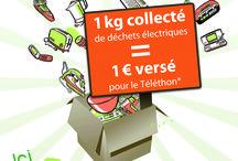 Evénements Ecologic / Actions de sensibilisation au geste de tri, recyclage des DEEE